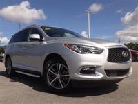 Infiniti Certified..This Very Low Mileage QX60 includes