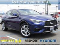Ink Blue 2017 INFINITI QX30 Sport FWD 7-Speed Automatic