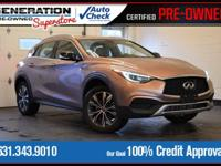 Brown 2017 INFINITI QX30 Premium AWD 7-Speed Automatic