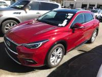 Options:  2017 Infiniti Qx30 Sport|Magnetic