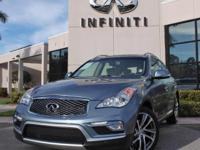 2017 Infiniti QX50, Certified Pre-Owned Vehicle,