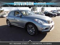 Stevinson Lexus is offfering this. 2017 INFINITI QX50