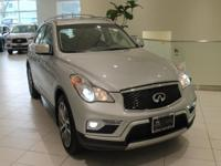 JUST IN!!  2017 INFINITI QX50 Liquid Platinum Nav/GPS,