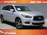 CARFAX One-Owner. Clean CARFAX. 2017 INFINITI QX60 FWD