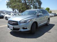 Options:  2017 Infiniti Qx60 Fwd|Certified Vehicle|Roof