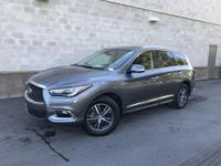 Certified. Graphite Shadow 2017 INFINITI QX60 FWD