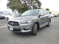 Options:  2017 Infiniti Qx60 Awd|Certified Vehicle|Roof