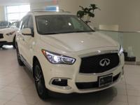 JUST IN!!  2017 INFINITI QX60, Majestic White, Nav/GPS,