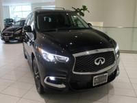 JUST IN!!  2017 INFINITI QX60 Black Obsidian Nav/GPS,