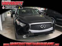 **HAGGLE FREE PRICING** Black 2017 INFINITI QX70