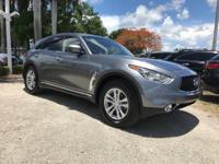 Options:  2017 Infiniti Qx70 Base|Graphite