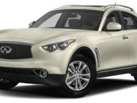 This 2017 INFINITI QX70 4dr AWD features a 3.7L V6
