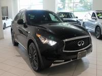 JUST IN!  2017 INFINITI QX70 Black Obsidian, Nav/GPS,