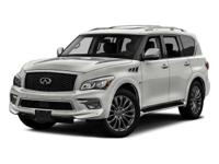 Options:  2017 Infiniti Qx80 Base|Black