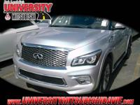 **AWD!!** 2017 Infiniti QX80 with 3rd row seats: