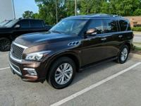 Recent Arrival! 2017 INFINITI QX80 5.6L V8 Brown