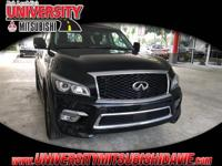 **HAGGLE FREE PRICING** Black Obsidian 2017 INFINITI