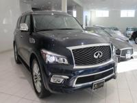 JUST IN!!  2017 INFINITI QX80, Hermosa Blue, Nav/GPS,
