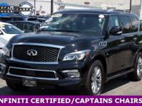 **RECENT ARRIVAL** **LEATHER** **MOONROOF** **CAPTAINS