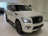 JUST IN!    LIMITED EDITION!    2017 INFINITI QX80