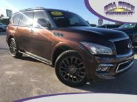 Recent Arrival! This 2017 INFINITI QX80 Limited is