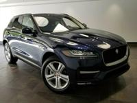 This 2017 Jaguar F-PACE 35t R-Sport is featured in Dark