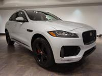 **CERTIFIED** This 2017 Jaguar F-PACE S is offered in