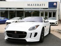 Check out this gently-used 2017 Jaguar F-TYPE we
