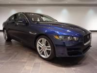 This 2017 Jaguar XE 35t Premium is offered in Dark