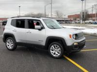 2017 Jeep Renegade Latitude 4WD Glacier Metallic 2.4L