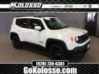 2017 Jeep Renegade Alpine White Latitude 4WD 9-Speed
