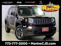 JEEP CERTIFIED!! 7 YEAR - 100,000 MILE WARRANTY!! SPORT