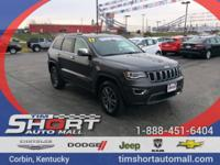 Gray 2017 Jeep Grand Cherokee Limited 4WD 8-Speed