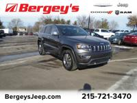 JEEP CERTIFIED! 4WD LIMITED! Heated Front Seats,
