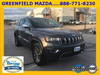 2017 Jeep Grand Cherokee Limited New Price! CARFAX(R)
