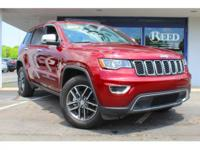 New Price! 2017 Jeep Grand Cherokee Limited Certified.