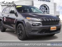 Step up to our 2017 Jeep Cherokee Sport 4x4 that's