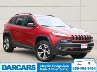 This 2017 Jeep Cherokee Trailhawk is offered to you for