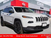 Step up to our Accident-Free 2017 Jeep Cherokee Sport