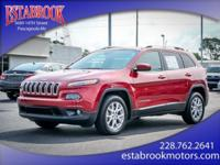 Check out this gently-used 2017 Jeep Cherokee we