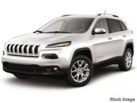 Recent Arrival! 2017 Jeep Cherokee Latitude CARFAX