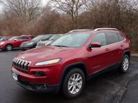 Cherokee Latitude, 4WD, and ***ONE OWNER***. Alloy
