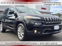New Price! Black 4D Sport Utility 2017 Jeep Cherokee