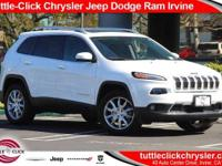 This 2017 Jeep Cherokee Limited, has a great Bright