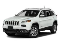 Options:  2017 Jeep Cherokee Limited|Bright White