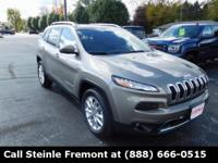 Recent Arrival! New Price! 2017 Jeep Cherokee Limited