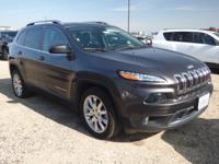Options:  2017 Jeep Cherokee Limited Fwd|What A Great