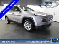 CARFAX One-Owner. Clean CARFAX. 2017 Jeep Cherokee