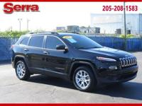 Black 2017 Jeep Cherokee Sport FWD 9-Speed 948TE