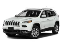 2017 Jeep Cherokee Altitude ABS brakes, Compass,